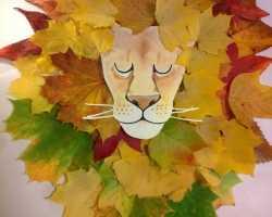 Картинки с осенними листьями для детского сада
