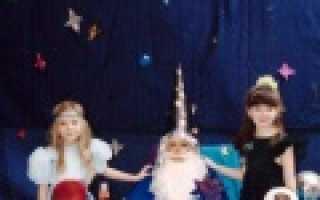 Сценарий сказки красная шапочка для детского сада