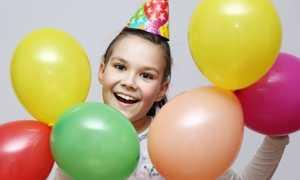 Про детский день рождения