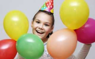Интересный день рождения для ребенка