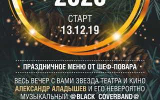 Предновогодние корпоративы 2020