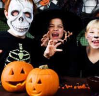 Сценарий для ведущего на хэллоуин