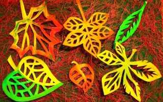 Как украсить окна осенью в детском саду
