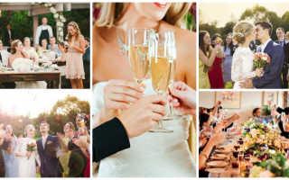 Тост от друга на свадьбу