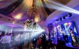 Проведение свадеб дней рождений