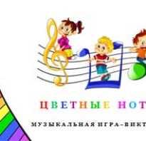 Музыкальная викторина для дошкольников