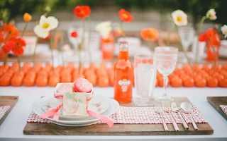 Оранжевая вечеринка фото
