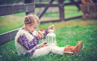 Красивая фотозона для детей