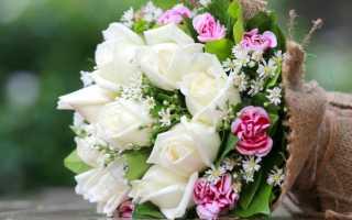 Цветочек для любимой девушки