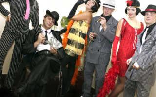 Гангстерская вечеринка фотозона