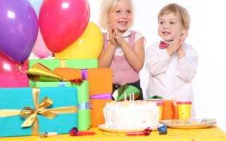 Сценарий на день рождения 6 лет