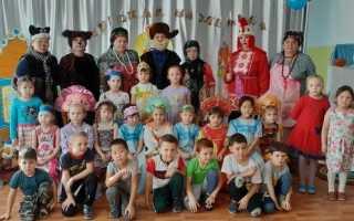 Театр в детском саду сценарии