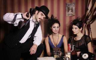 Вечеринка в стиле мафии фото