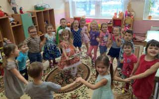 Дни рождения в детском саду