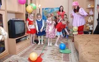 Веселый детский день рождения