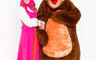 Маша и медведь аниматоры на день рождения