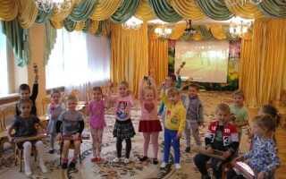 Оркестр в детском саду