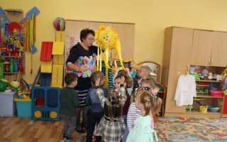 В детском саду прошел день открытых дверей