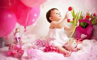 Стихи с днем рождения племяннице 1 годик