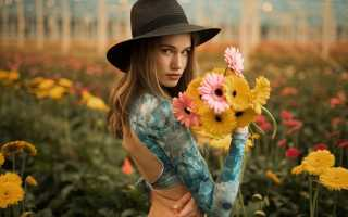 Значение цветов для девушки