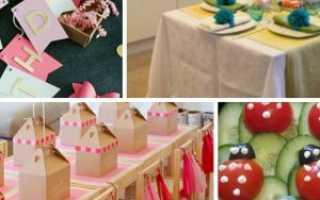 Проведение детского дня рождения в домашних условиях