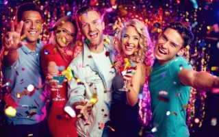 Тематическая вечеринка на день рождения для взрослых