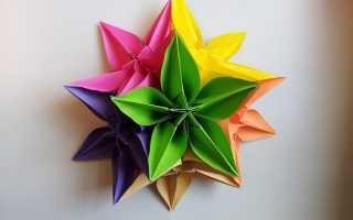 Из чего делают объемные цветы на стену