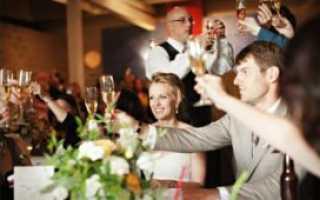 Тосты на свадьбу от друзей