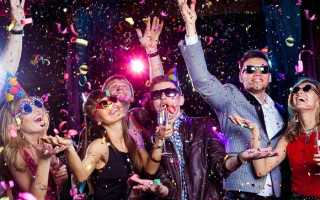 Новогодние тематические вечеринки сценарии