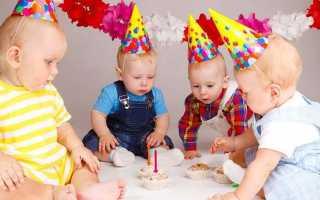 Праздник в честь рождения ребенка